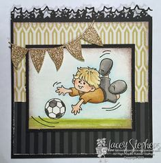 Gabriel Loves Soccer from High Hopes Rubber Stamps http://handstampedbylacey.typepad.com/my_weblog/2015/06/high-hopes-gabriel-loves-soccer.html