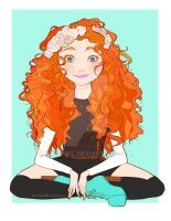 finally Princess Merida is ready! yesterday I watched Brave and it was SUPER AMAZING! I absolutely love the movie! so after I saw the movie I started drawing Merida to add her to my Disney. Disney E Dreamworks, Disney Movies, Disney Pixar, Walt Disney, Disney Characters, Disney Princesses, Disney Fan Art, Disney Style, Disney High