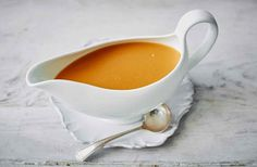 Learn how to make the perfect rich gravy for any roast dinner with this easy step-by-step gravy recipe. Find more Roast dinner recipes at Tesco Real Food.