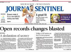 A wave of media coverage helps to beat back changes to Wisconsin's public records law - Columbia Journalism Review