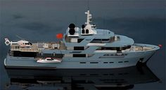 New Construction 190 Proteksan Turquoise Expedition Yacht