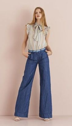 ottodame 3 Ss16, Bell Bottoms, Bell Bottom Jeans, Summer 2016, Spring Summer, Luxury Fashion, Store, Pants, Shopping