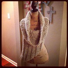 Super comfy! -Katniss Inspired Cowl District 12 Shield FEB by UrbanRusticMarket, $80.00