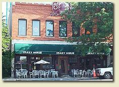 The Crazy Horse Food and Drink Emporium :: Bloomington, Indiana. Great appetizer menu with portions big enough for a full meal!