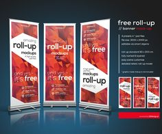 Ознакомьтесь с этим проектом @Behance: «Free PSD - Roll-up mockup» https://www.behance.net/gallery/36649725/Free-PSD-Roll-up-mockup