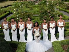 Black Wedding Moment Of The Day This Bride And Her Bridesmaids Seriously Came To Slay