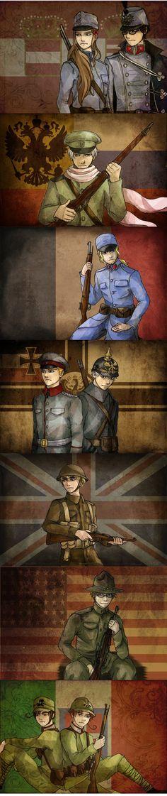 The War to End All Wars [Hetalia] by HeroicPlights.deviantart.com on @deviantART