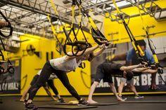 TRX Workouts – 30 minute home workout plan [PDF] Trx Workout Plan, Trx Full Body Workout, Calisthenics Workout, 30 Minute Workout, At Home Workout Plan, At Home Workouts, Cardio, Trx Workouts For Women, Trx Training