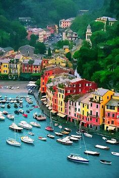 Portofino, Italy by goglee, via Flickr