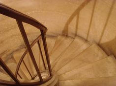 The stairs to the crypt of the Pantheon Paris. It is the resting place of Voltaire Rousseau Marie Curie and other famous French writers philosophers and scientists. #paris #pantheon #crypt #outofoffice