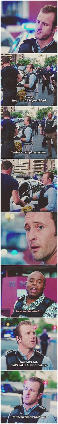 mcdanno hawaii five 0 danny williams steve mcgarrett lou grover 5.15 +unnecessary touching
