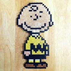 Charlie BRown - Peanuts perler beads by myjsi000