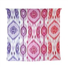 OiOi Printed Muslin Wrap - Ikat Girl