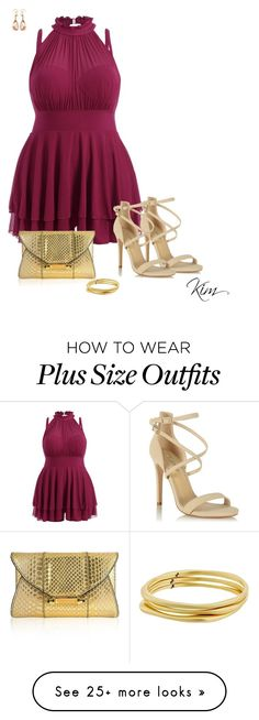 """Play Time"" by ksims-1 on Polyvore featuring Miss Selfridge, Judith Leiber, Karen Kane and Valentin Magro"