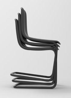Freischwinger chair by Thomas Feuchter