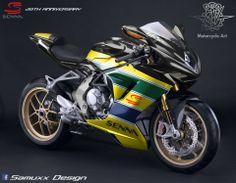 MV Agusta F3 - Senna. (ducati tyrol)