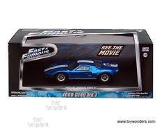 1/18 diecast fast and furious gt40   Ford GT40 MK I Hard Top 86224 1/43 scale Greenlight Fast & Furious ...