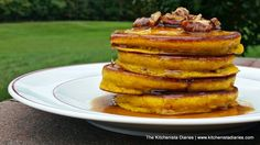 The Kitchenista Diaries: Buttermilk Pumpkin Pancakes & Pecan Spiced Maple Syrup