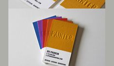Pintor Business Card