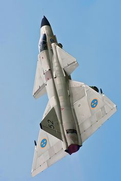 Swedish Air Force SAAB 37 Viggen.