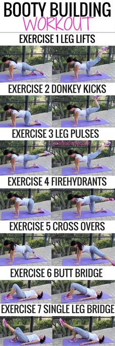 Repeat each exercise until you feel the burn… then do 10 more. Do 4 rounds, or sets of these exercises to complete your workout. For the best results, do this workout at least 2 times a week. Easy peasy!
