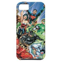 The New 52 - Justice League #1 iPhone 5 Cases