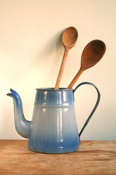 French Enamel Teapot