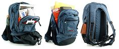 Nomadic CB-01 Wise-Walker Multi Compartment Day Backpack - Navy - JetPens.com