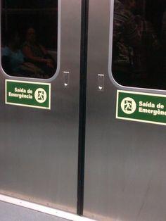 Porta - Trem