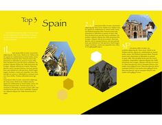 Travel Spain Brochure By Amber P Via Behance Additional Piece