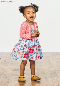 f8abd3256a72 Camp MJC  Spring 2018  New Best Friend Dress. With playful polka dots up. Little  Girl ...