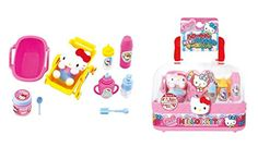 hello Kitty Miniautre Baby Care Foods and Drinks Roll Play Set from Japan >>> Read more reviews of the product by visiting the link on the image.