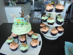 Scooby Doo birthday party ideas and cake!