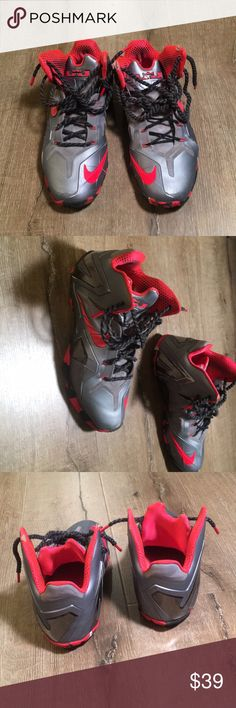 Nike LeBron James size 9 Very nice basketball shoes.   Some wear but pretty decent. Nike Shoes Sneakers