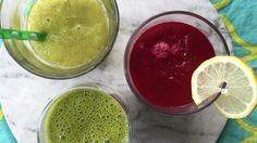 Kick the new year into high gear by resetting with these delicious, super healthy detox smoothies.