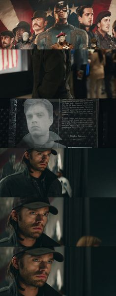 Can we just talk about the end of the credits for Winter Soldier? The Winter Soldier/Bucky going to the museum, and seeing how close he and Steve used to be, and seeing who he really was, just a heartbreaking scene! <<<But at the same time, it was so darn hopeful! Probably one of my favorite parts of the whole movie.