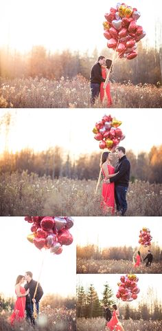 A sweet Valentine's couple session