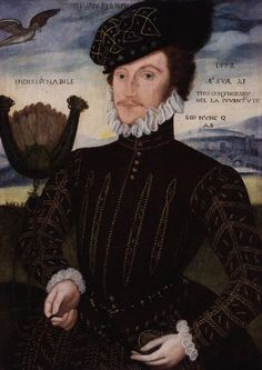 Portrait of Sir Thomas Coningsby, 1572, attributed to George Gower.