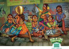 NIMA BARTAN by ajinkya bane, via Behance Cartoon Drawings, Animal Drawings, Art Drawings, Bengali Art, Bronze Age Civilization, Indian Illustration, Cute Couple Art, India Art, Indian Art Paintings