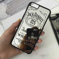 Jack Daniels Whiskey Mirror Phone Case for iPhone 5 5S 6 6plus