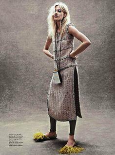 Vogue Austrália Maio 2014   Natalia Siodmiak por Scott Trindle  [Editorial]
