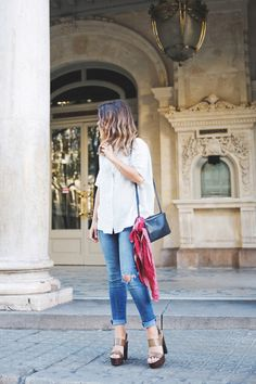 How to Cuff Jeans Like a Boss | StyleCaster