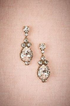Lettice Drop Earrings by BHLDN   ||  Perfect  Wedding or Bridesmaid Earring   ||  Follow @KWHBridal