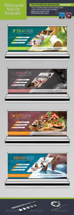 Buy Multipurpose Billboard Template by grafilker on GraphicRiver. Multipurpose Billboard Template Fully layered INDD Fully layered PSD and Inches . Pizza Promo, Lato Font, Print Design, Graphic Design, Text Fonts, Information Graphics, Signage Design, Vector Format, Font Family