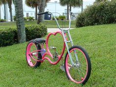 Wow, i luv this pink bike!