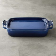 Le Creuset Stoneware Rectangular Baker with Platter Lid #williamssonoma