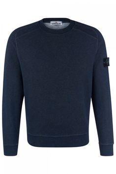 Stone Island Herren Sweatpullover Marineblau | SAILERstyle Stone Island, Pullover, Parka, Sweatshirts, Sweaters, Fashion, Fashion Styles, Compass Symbol, Lace Cardigan