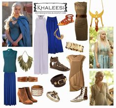 DIY Halloween costume - Khaleesi