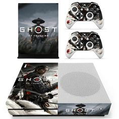Ghost Xbox one S Skin | Xbox one S skin – Console skins world Console Styling, Xbox One S, Console Table Styling