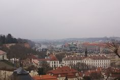 A spectacular view from Prague Castle.
